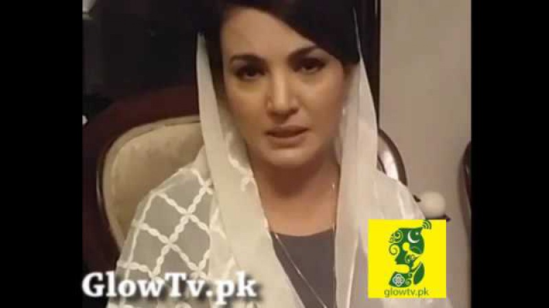 Reham Khan Heart Touching interview on Facebook Live Fans