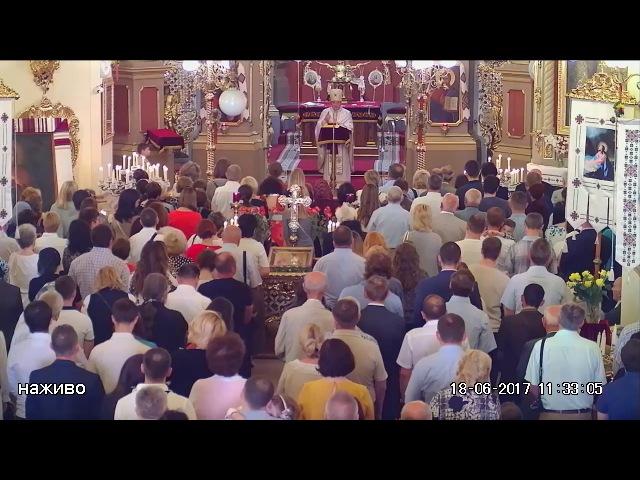 Духовне слово митрофорного протоієрея Романа Кравчика