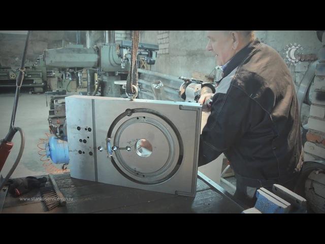 Сборка каретки токарного станка 1Н65 (1М65, ДИП 500)
