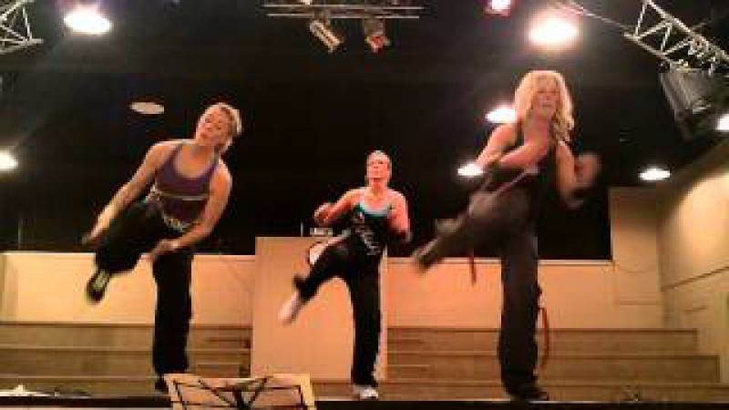 Brookdale Club Zumba Ab Workout to Break Your Heart and Fireburning