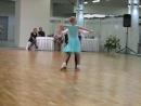 Соревнование по спортивным бальным танцам. Самба.