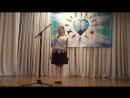 Виктория Шуватова. Всероссийский конкурс Сияние талантов. Театр