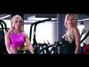 Екатерина Усманова (Россия) и Екатерина Красавина (Россия) - красивые фитнес-бикини модели. Тренировка в фитнес зале. Рекомендую