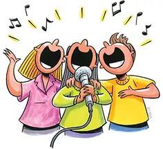 Друзья, кто умеет петь?