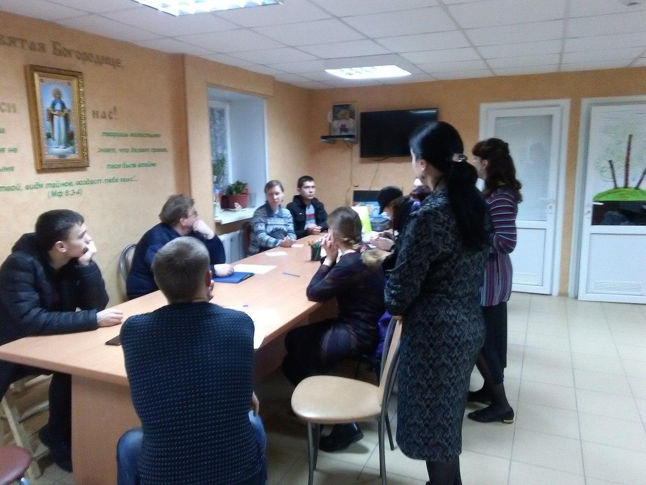 9 марта состоялось очередное собрание волонтеров.