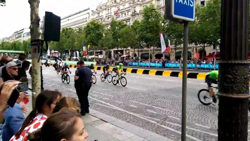 Тур де франс Париж