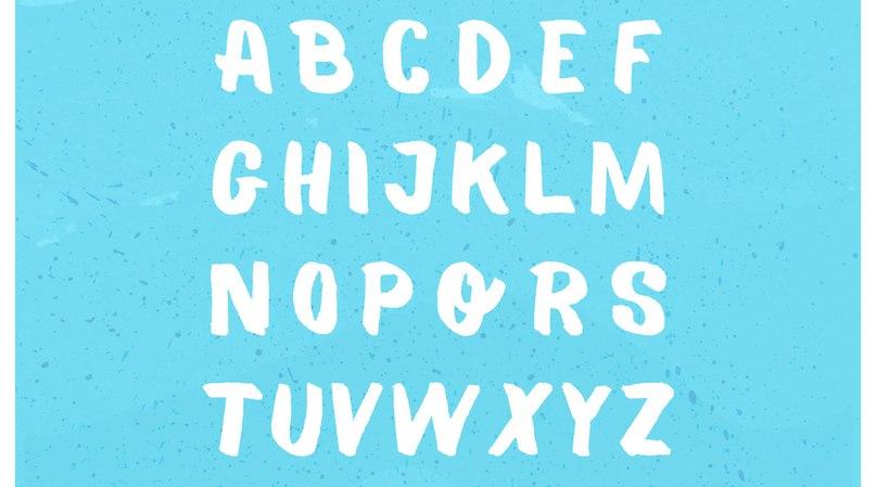 Balmy шрифт скачать бесплатно