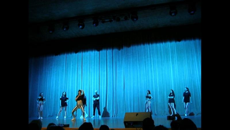 Выступление преподавателей Большой Отчётный концерт Школы танцев PRO.Dviжение 21 мая 2017