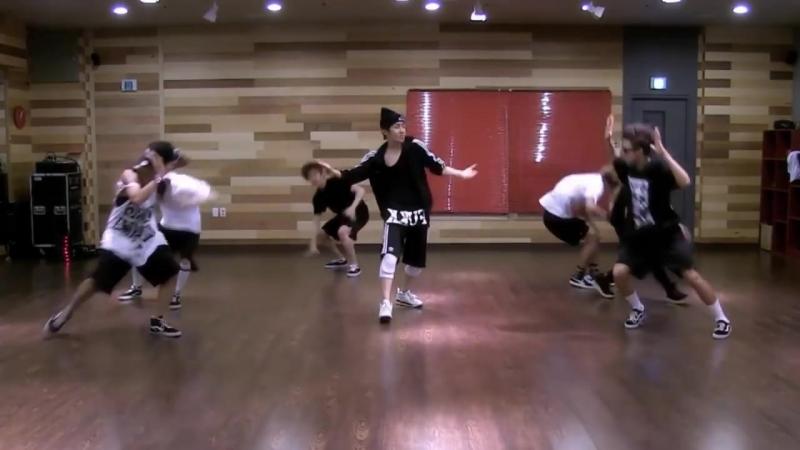 BTS We Are Bulletproof Pt 2 mirrored Dance Practice