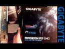 Unboxing GIGABYTE R7 240 OC 2GB DD3 (AMD_ATI)