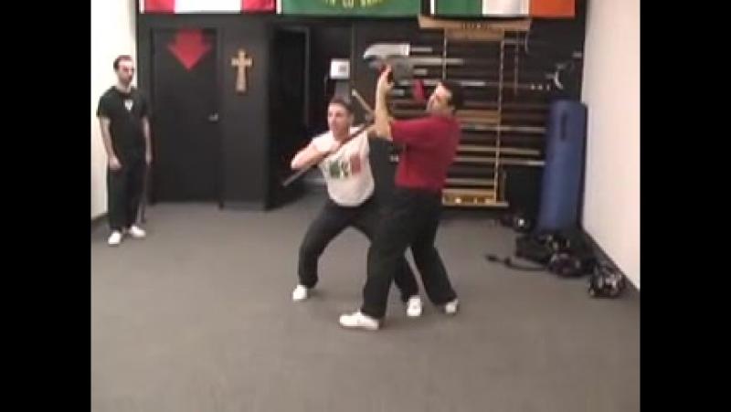 Doyle Irish Stick Fighting (Lesson 2) Shillelagh Bataireacht