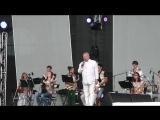 Эстрадно-джазовый оркестр КазГУКИ на Летней культурной универсиаде 11.07.2013 г