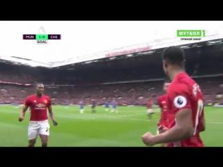 Манчестер Юнайтед 1:0 Челси. Гол Рэшфорда