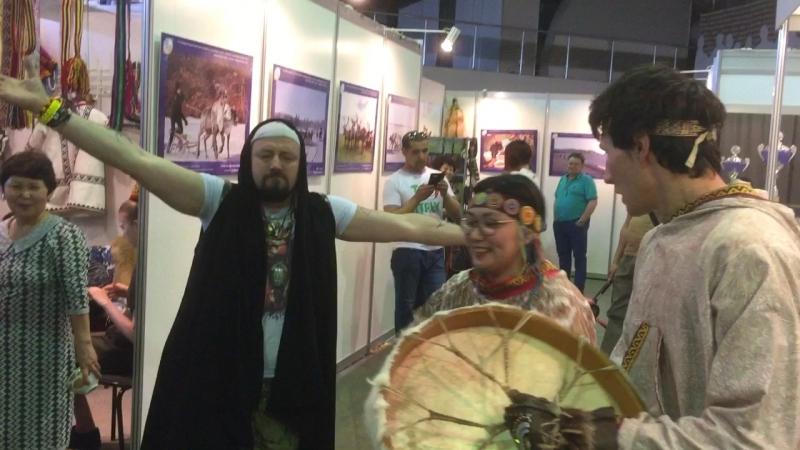 шаманские танцы и песня иван шабанов