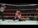 Bellas vs Gail Kim and Tamina, WWE Monday Night RAW 07.02.2011