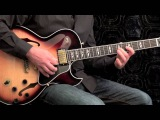 Swing Jazz #2 - Blues Guitar Solo Herb Ellis Style