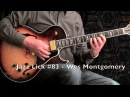 5 Jazz Guitar Licks - Wes Montgomery Style with Tabs (Lick 81 - 85)