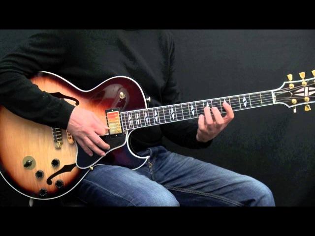 5 Bebop Jazz Guitar Licks - Cannonball Adderley Style (Lick 66 - 70)