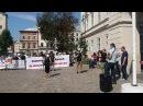 Львів'яни прийшли під Ратушу із протестом проти брехні Садового