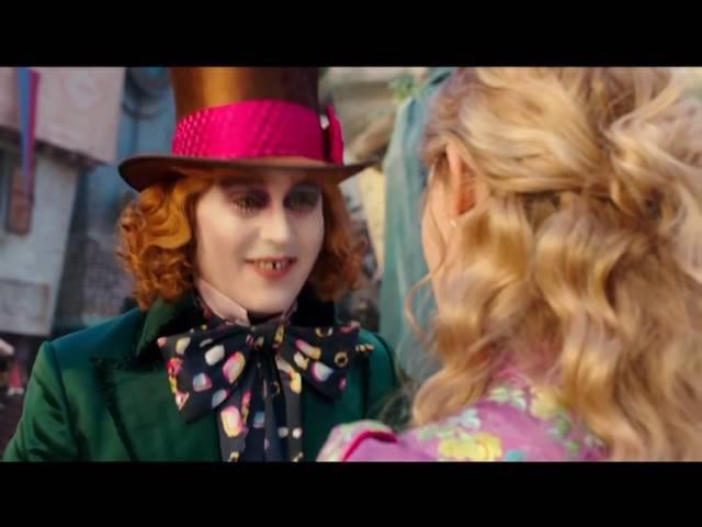 Алиса в Стране Чудес 1 и 2 части клип