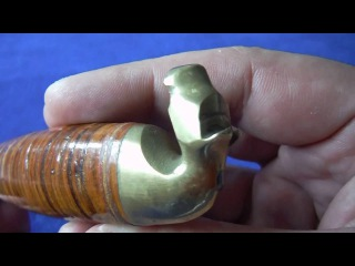 Vintage Kauhava Horse Head Puukko Knives