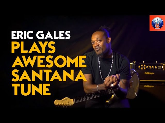 Eric Gales Plays Awesome Santana Tune