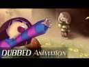 Save him - OFFICIAL DUBBED ANIMATION Undertale Asriel and Frisk