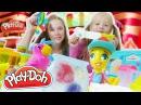 Видео для девочек. Зоомагазин ПлейДо лепим из пластилина. Поделки с детьми