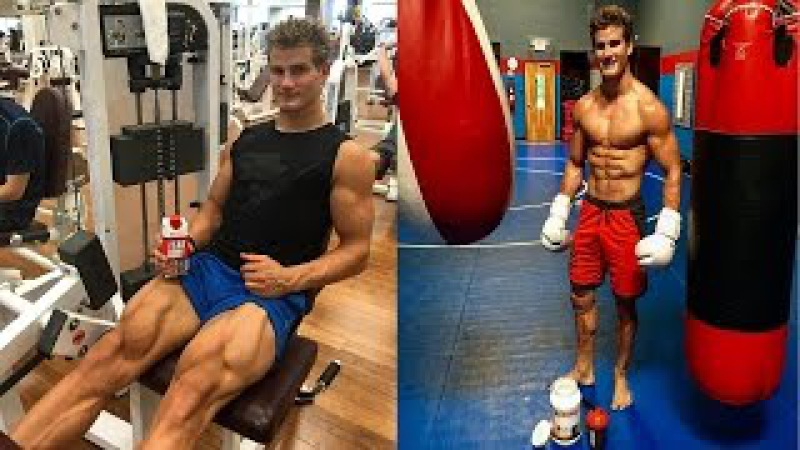 Sage Northcutt training and having fun 2017