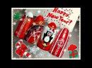 Новогодний Дизайн Ногтей гель лаками. Милый Пингвинчик / New Design Nail / Merry Christmas