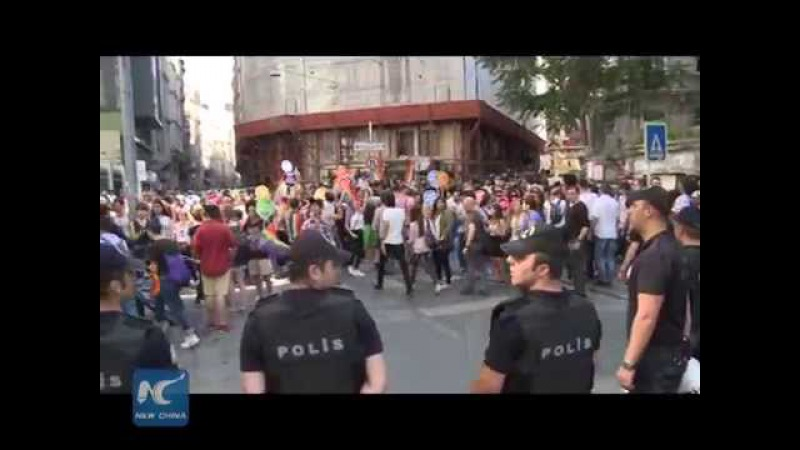 RAW: Turkish police break up Istanbul's Gay Pride Parade