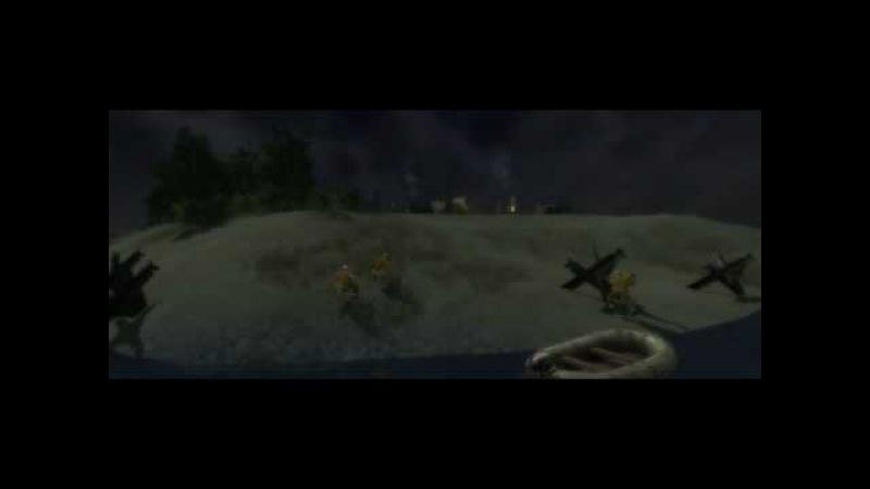 В тылу врага 2: Лис Пустыни - Начало операции Огонь во тьме