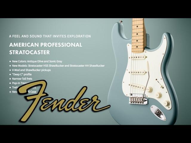 Fender American Professional Stratocaster (Обзор) » Freewka.com - Смотреть онлайн в хорощем качестве