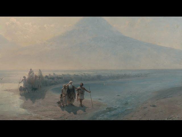ИВАН АЙВАЗОВСКИЙ. Всемирный потоп. Библейский сюжет