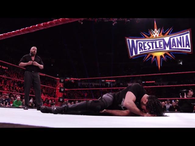 Road to WrestleMania 33 Seth Rollins vs. Triple H