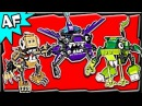 Lego Mixels MAX Series 3: Glorp Corp, Spikels, Wiztastics Stop Motion Set Review