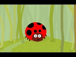Мультик про божью коровку - познавательный мультфильм для малышей