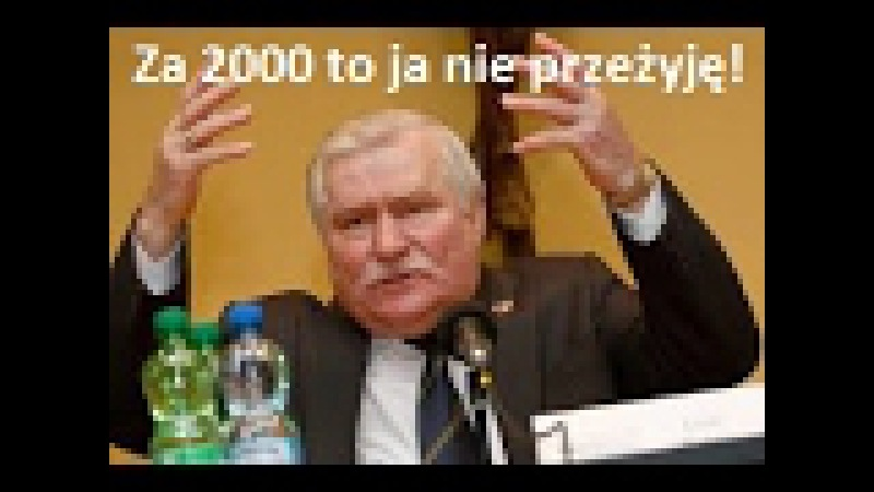 Max Nietypowego oświadczenia L. Wałęsy nie wszyscy oglądali - Prawdopodobnie będzie miał ...