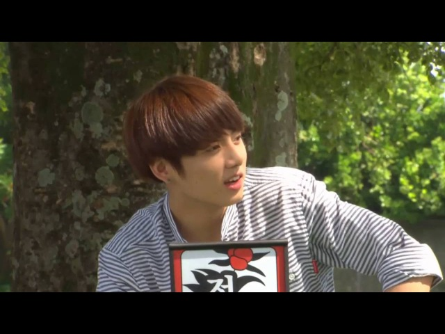 [160607 V APP] JUNGKOOK CAM꽃놀이패 FLOWER CREW DAY 2