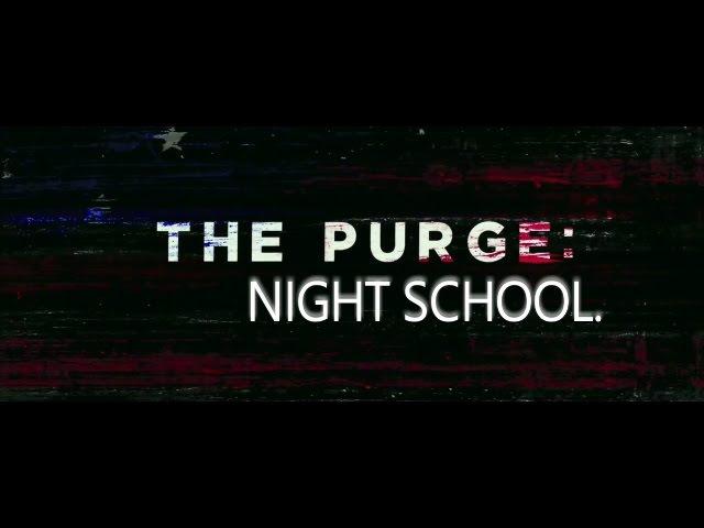 Night school | the purge AU | kpop multifandom