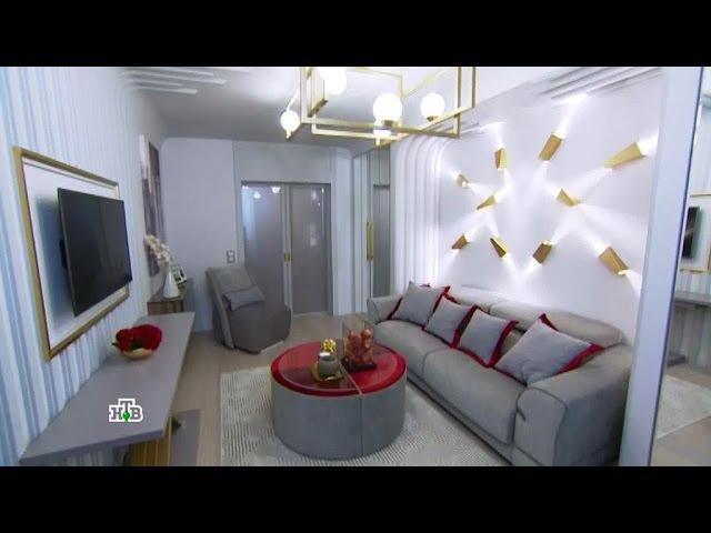 Квартирный вопрос: Гостиная мечты со шкафами-невидимками и столами-трансформерами