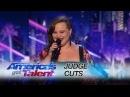 Yoli Mayor Miami Singer Kills Love On The Brain - Americas Got Talent 2017