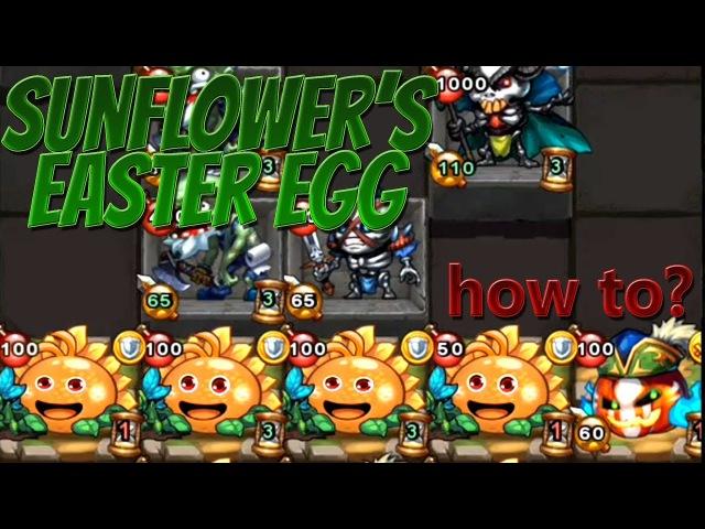 [GD] Sunflower's Easter Egg (Plants vs. Zombies - Flowers vs. Undeads)