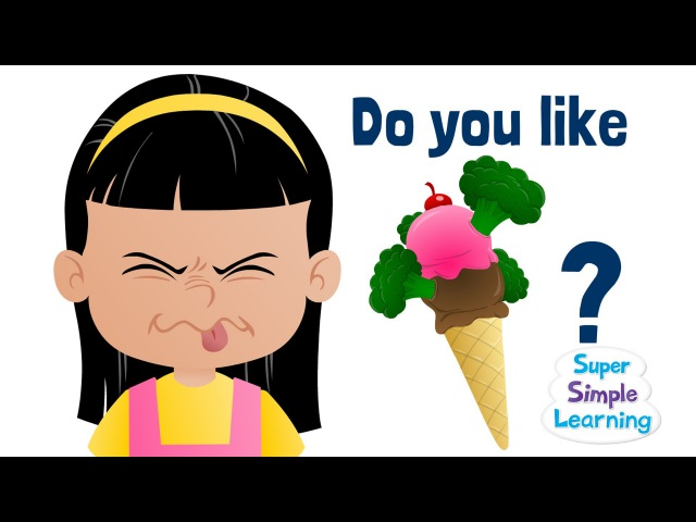 Do You Like Broccoli Ice Cream | Super Simple Songs