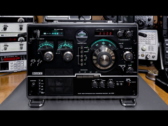 SONY CRF-320 Receiver Restoration Repair and Modification