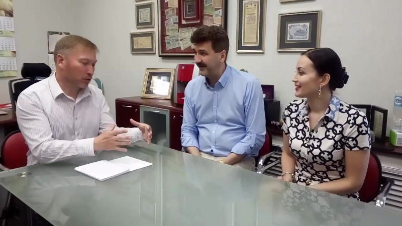 Интервью с Анной и Алексеем Страгис