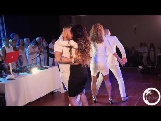 Grupo Extra - Me Emborrachare con Ataca, Alemana, Daniel y Desiree