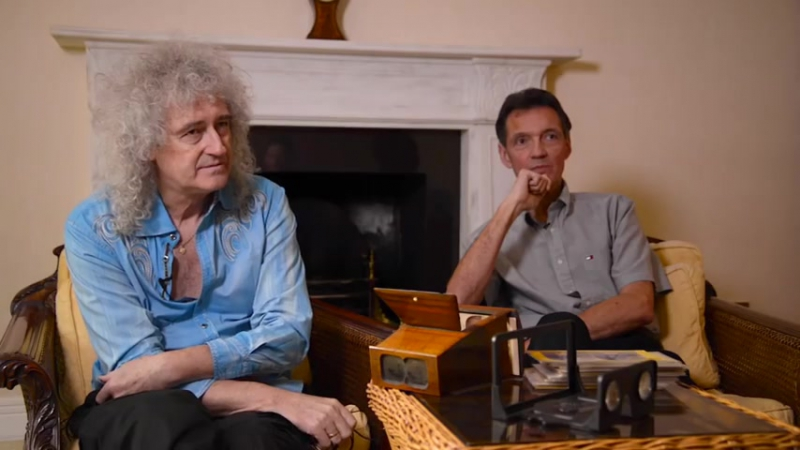 Brian May Denis Pellerin Photography tips How to shoot stereoscopic images