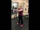 Упражнение для сушки рук, выполняет Елена, член клуба RE:fit на ул.8 марта,59, тренер Алсу!👍👍👍