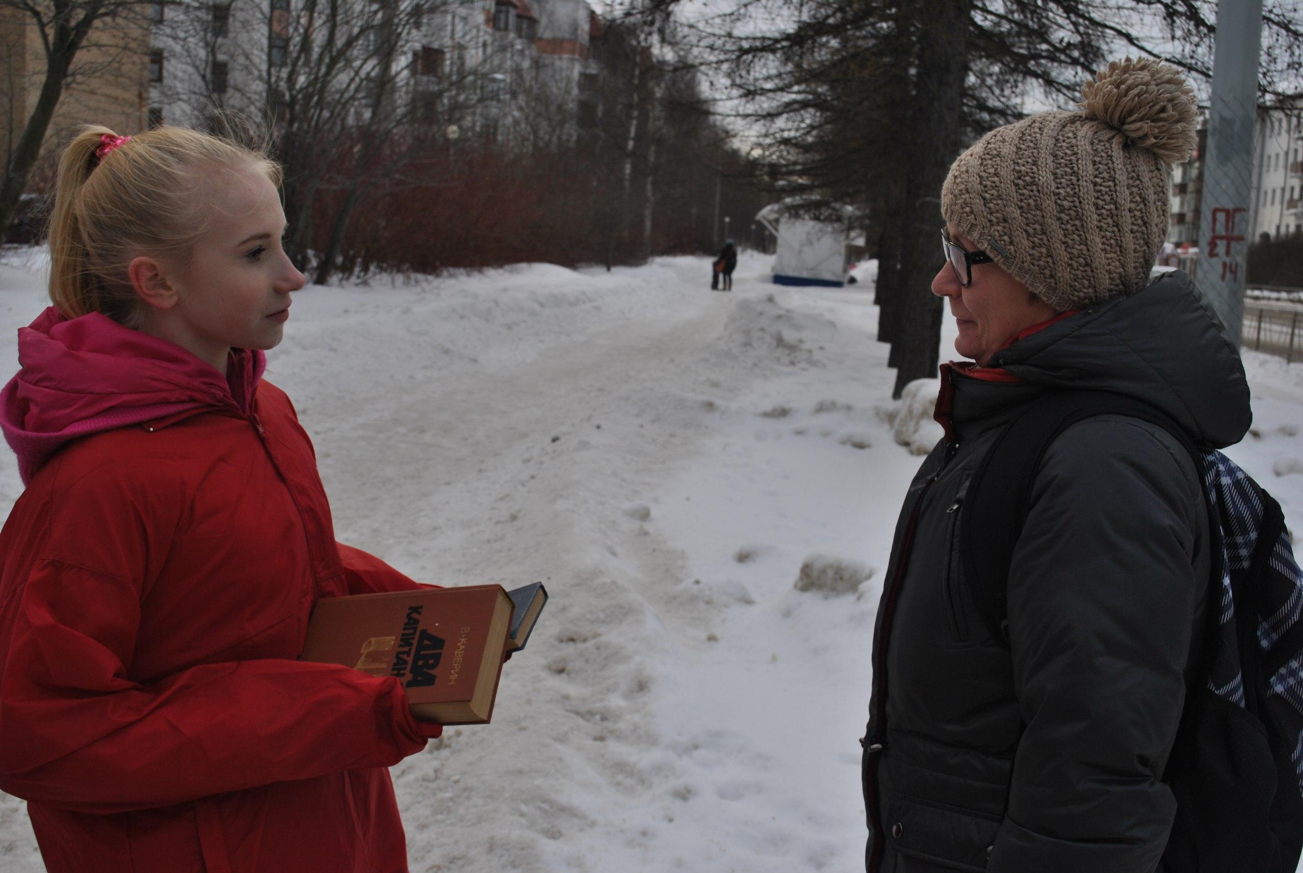 Волонтеры Дома молодежи отметили Международный день дарения книг